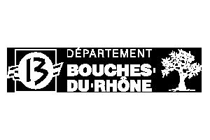 logo département des bouches du rhônes